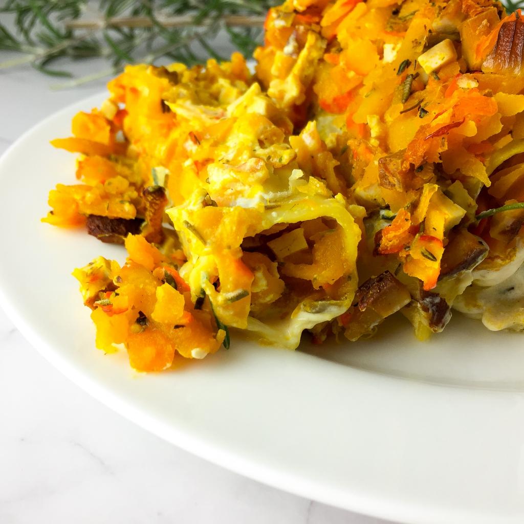 Kürbis Cannelloni vegan
