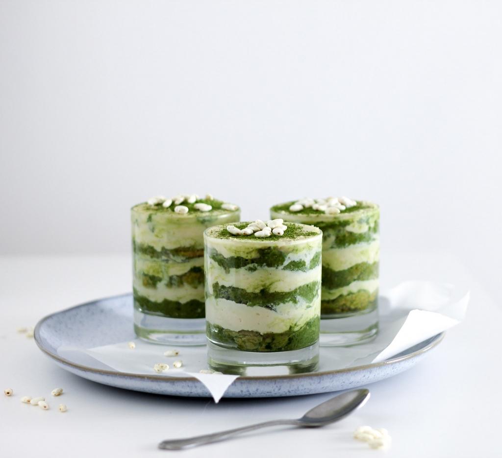 Matcha Tiramisu vegan Rezept