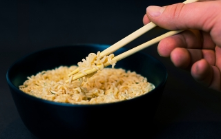 Chinesische Nudeln Mononatriumglutamat schädlich