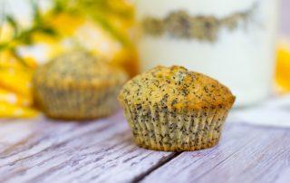 Vegane Zitronen-Mohn-Muffins