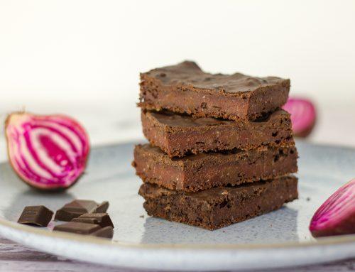 Rote Bete Brownies | vegan, ohne Zucker, ohne Öl