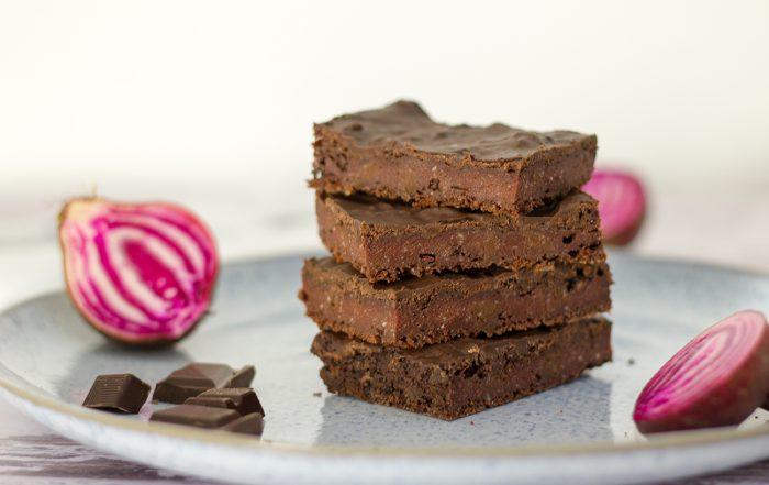 Rote Bete Brownies